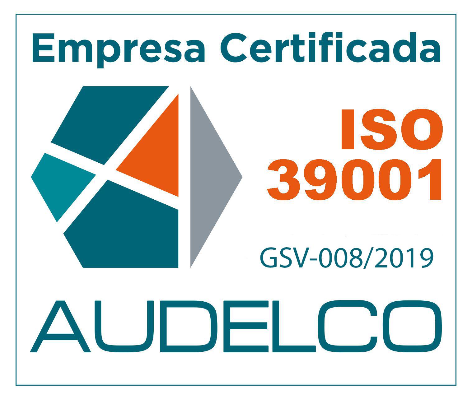 Certificado ISO 39001